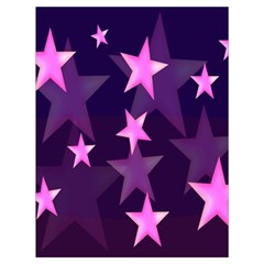 Background With A Stars Drawstring Bag (Large)