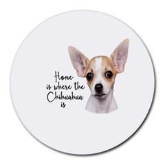 Chihuahua Round Mousepads