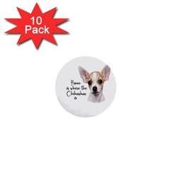 Chihuahua 1  Mini Buttons (10 pack)