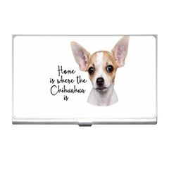 Chihuahua Business Card Holders