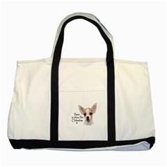 Chihuahua Two Tone Tote Bag