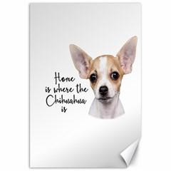 Chihuahua Canvas 20  x 30