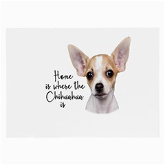 Chihuahua Large Glasses Cloth (2-Side)