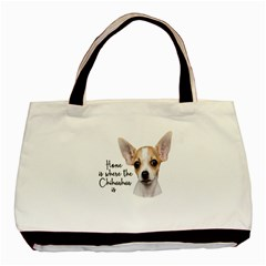 Chihuahua Basic Tote Bag (Two Sides)