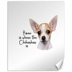Chihuahua Canvas 11  x 14