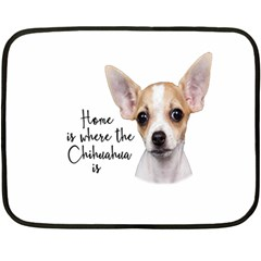 Chihuahua Double Sided Fleece Blanket (Mini)
