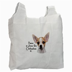 Chihuahua Recycle Bag (Two Side)