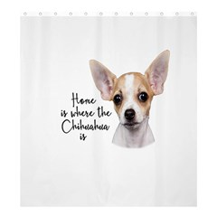 Chihuahua Shower Curtain 66  x 72  (Large)