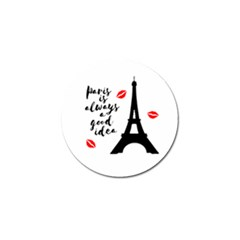 Paris Golf Ball Marker