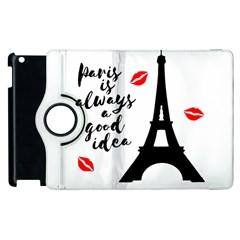 Paris Apple iPad 3/4 Flip 360 Case