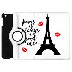 Paris Apple iPad Mini Flip 360 Case