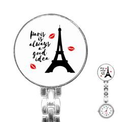 Paris Stainless Steel Nurses Watch
