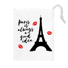 Paris Drawstring Pouches (Extra Large)