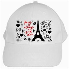 Paris White Cap