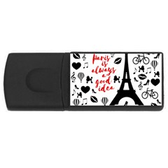 Paris USB Flash Drive Rectangular (1 GB)