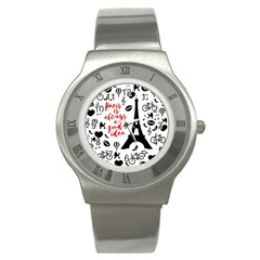 Paris Stainless Steel Watch