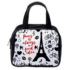 Paris Classic Handbags (One Side)