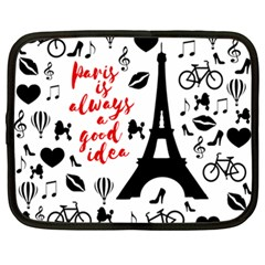 Paris Netbook Case (XXL)