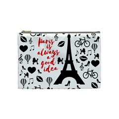 Paris Cosmetic Bag (Medium)