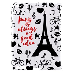 Paris Apple iPad 3/4 Hardshell Case (Compatible with Smart Cover)