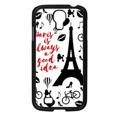 Paris Samsung Galaxy S4 I9500/ I9505 Case (Black)