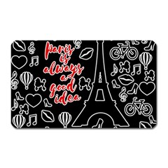 Paris Magnet (Rectangular)