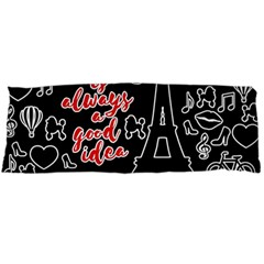 Paris Body Pillow Case (Dakimakura)