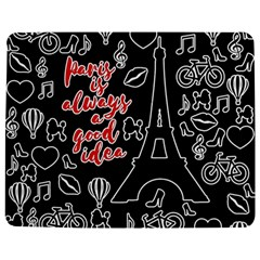 Paris Jigsaw Puzzle Photo Stand (Rectangular)