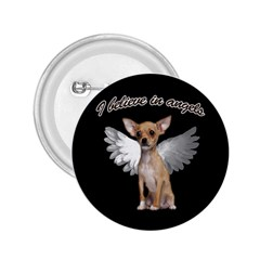 Angel Chihuahua 2.25  Buttons