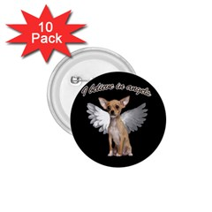 Angel Chihuahua 1.75  Buttons (10 pack)