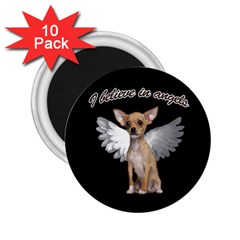 Angel Chihuahua 2.25  Magnets (10 pack)