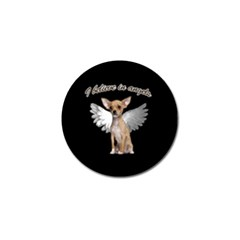 Angel Chihuahua Golf Ball Marker (10 pack)