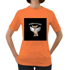 Angel Chihuahua Women s Dark T-Shirt