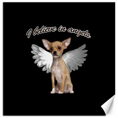 Angel Chihuahua Canvas 20  x 20