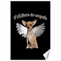 Angel Chihuahua Canvas 20  x 30