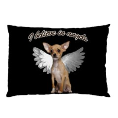 Angel Chihuahua Pillow Case