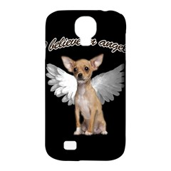 Angel Chihuahua Samsung Galaxy S4 Classic Hardshell Case (PC+Silicone)