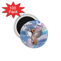 Angel Chihuahua 1.75  Magnets (100 pack)