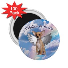 Angel Chihuahua 2.25  Magnets (100 pack)