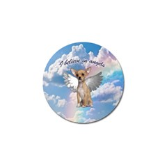 Angel Chihuahua Golf Ball Marker (4 pack)