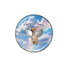 Angel Chihuahua Hat Clip Ball Marker