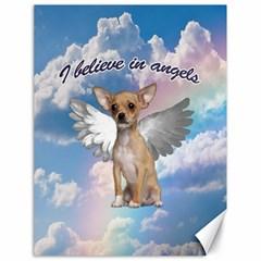 Angel Chihuahua Canvas 18  x 24