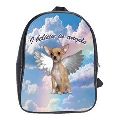 Angel Chihuahua School Bags(Large)