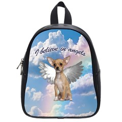 Angel Chihuahua School Bags (Small)