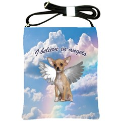 Angel Chihuahua Shoulder Sling Bags