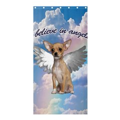 Angel Chihuahua Shower Curtain 36  x 72  (Stall)