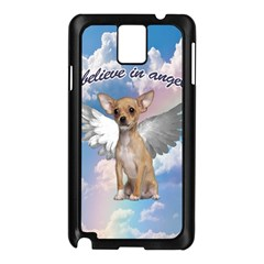 Angel Chihuahua Samsung Galaxy Note 3 N9005 Case (Black)