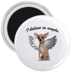 Angel Chihuahua 3  Magnets