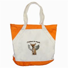 Angel Chihuahua Accent Tote Bag