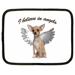 Angel Chihuahua Netbook Case (XXL)
